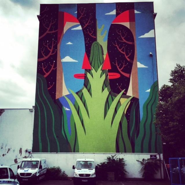 Triển lãm nghệ thuật đường phố tại Đức - Ảnh 12.