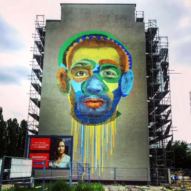 Triển lãm nghệ thuật đường phố tại Đức - Ảnh 8.