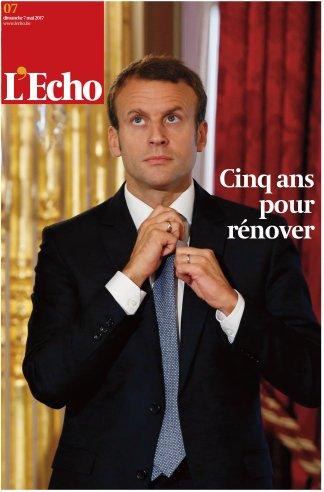 Chiến thắng của tân Tổng thống Pháp tràn ngập trang nhất báo chí châu Âu - Ảnh 10.
