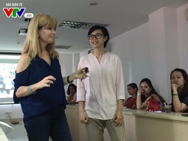Đài THVN khai giảng lớp Sản xuất clip bằng điện thoại di động cấp độ 2 cho phóng viên - Ảnh 4.