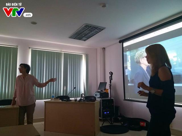 Đài THVN khai giảng lớp Sản xuất clip bằng điện thoại di động cấp độ 2 cho phóng viên - Ảnh 8.