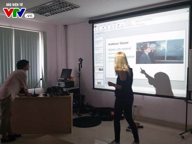 Đài THVN khai giảng lớp Sản xuất clip bằng điện thoại di động cấp độ 2 cho phóng viên - Ảnh 6.