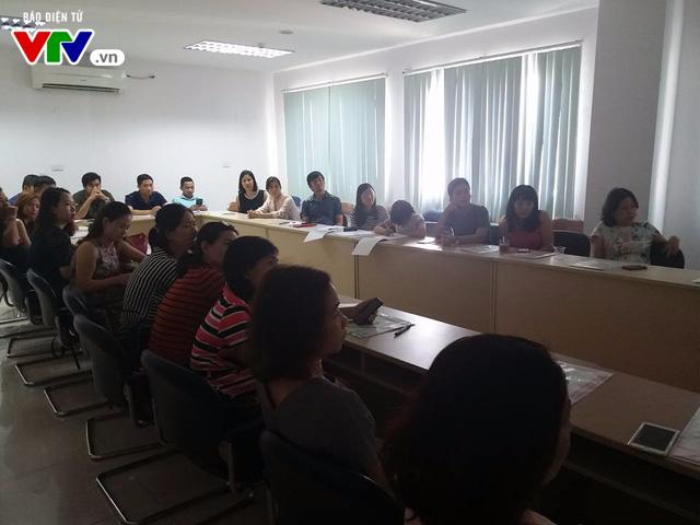 Đài THVN khai giảng lớp Sản xuất clip bằng điện thoại di động cấp độ 2 cho phóng viên - Ảnh 1.