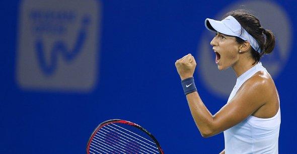 Caroline Garcia vô địch giải quần vợt Vũ Hán mở rộng 2017 - Ảnh 1.