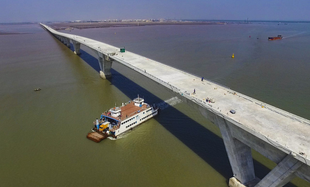 Ngày 14/5, thông xe kỹ thuật cầu vượt biển Tân Vũ - Lạch Huyện - Ảnh 7.