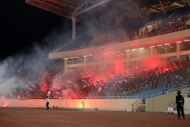 BTC sân Cần Thơ tăng cường an ninh trước trận gặp CLB Hải Phòng - Ảnh 1.