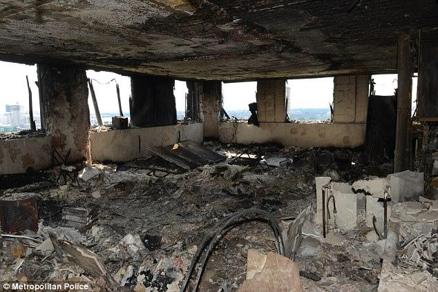 Công bố video bên trong tòa chung cư cháy đen ở Anh - ảnh 5