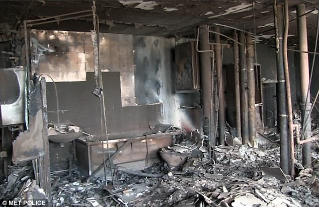 Công bố video bên trong tòa chung cư cháy đen ở Anh - ảnh 2