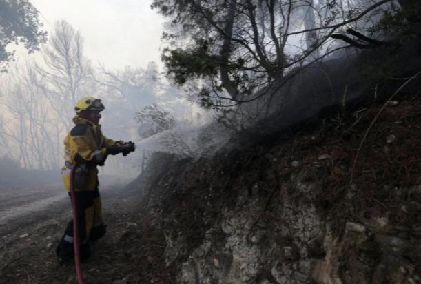 Cháy rừng diện rộng tại miền Nam nước Pháp - Ảnh 2.