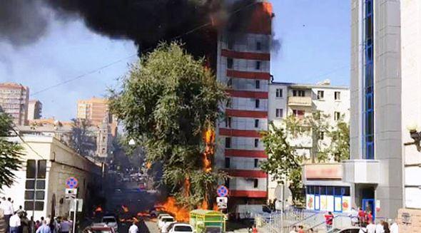 Cháy khách sạn tại Nga, ít nhất 2 người thiệt mạng - Ảnh 2.