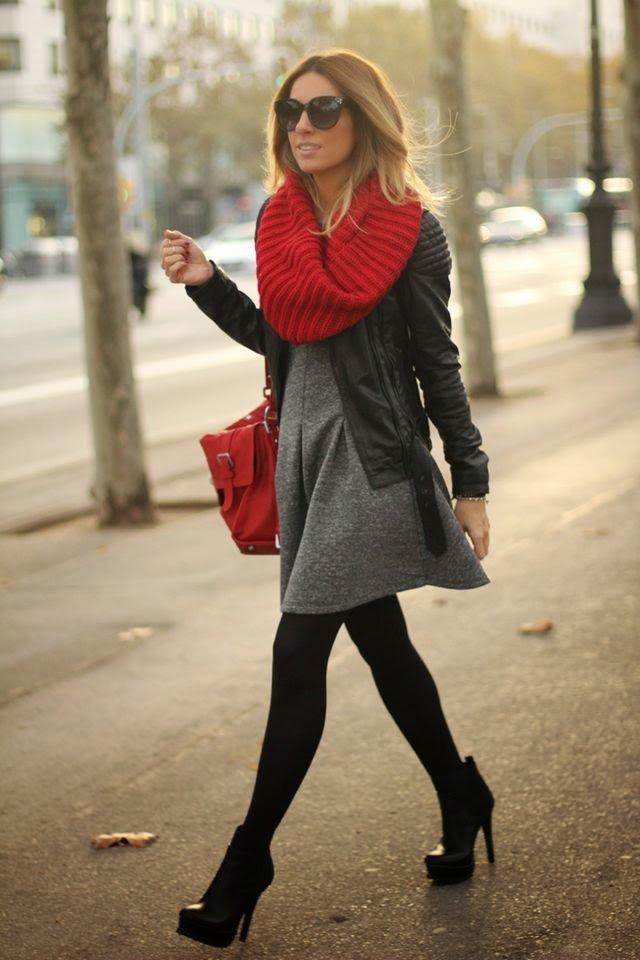 Gam màu đỏ nổi bật cho trang phục ngày Tết - Ảnh 3.