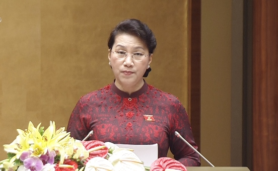 Toàn văn phát biểu khai mạc Kỳ họp thứ 3, Quốc hội khóa XIV của Chủ tịch Quốc hội Nguyễn Thị Kim Ngân - Ảnh 1.