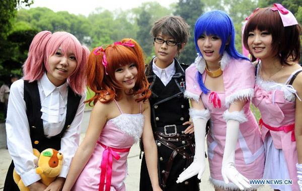 Kiếm tiền bằng cosplay tại Trung Quốc - ảnh 1