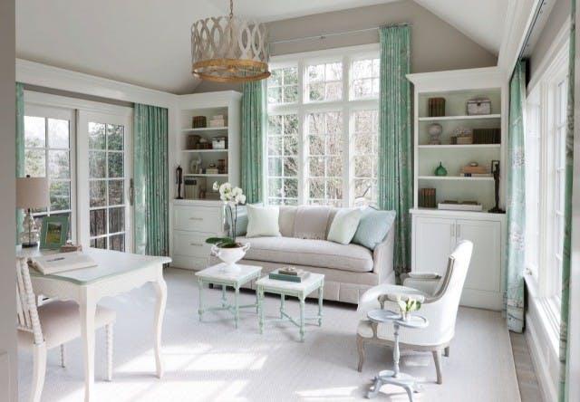 Tạo điểm nhấn nổi bật cho không gian trong nhà bằng màu xanh lá dịu mát - ảnh 2