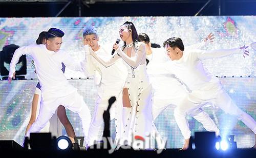 Đông Nhi được báo Hàn khen ngợi hết lời tại Asia Song Festival 2017 - Ảnh 1.
