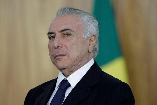 Tổng thống Brazil bác bỏ quyết định khởi tố vì hành vi tham nhũng - Ảnh 1.