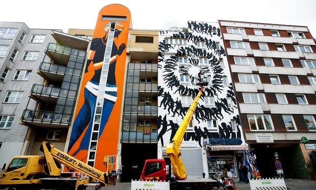 Triển lãm nghệ thuật đường phố tại Đức - Ảnh 1.