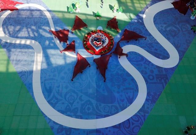 Chùm ảnh: Ấn tượng lễ khai mạc Cúp Liên đoàn các châu lục 2017 - Ảnh 12.