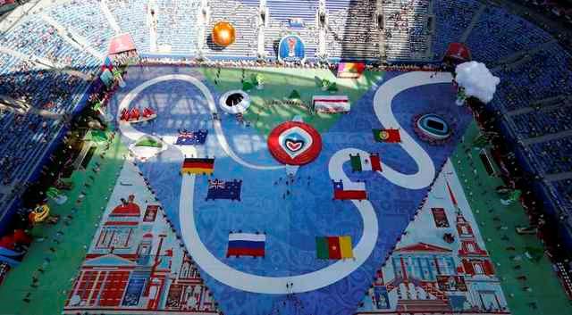 Chùm ảnh: Ấn tượng lễ khai mạc Cúp Liên đoàn các châu lục 2017 - Ảnh 11.