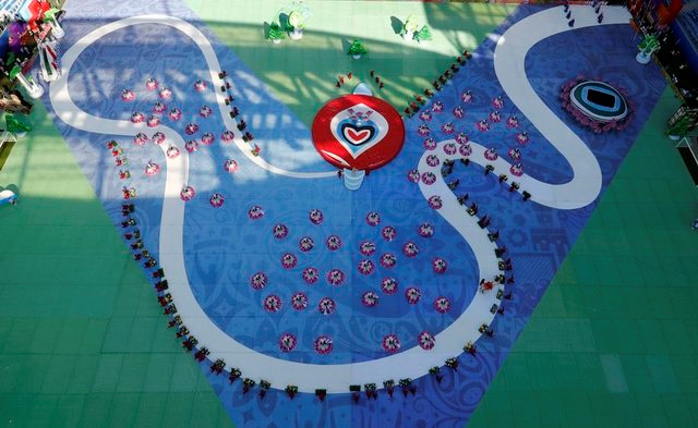 Chùm ảnh: Ấn tượng lễ khai mạc Cúp Liên đoàn các châu lục 2017 - Ảnh 10.