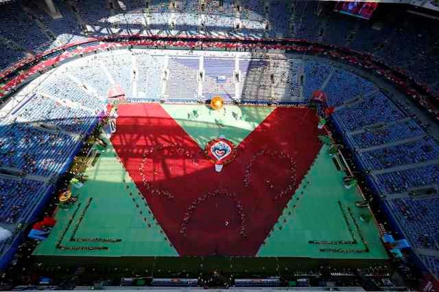 Chùm ảnh: Ấn tượng lễ khai mạc Cúp Liên đoàn các châu lục 2017 - Ảnh 8.
