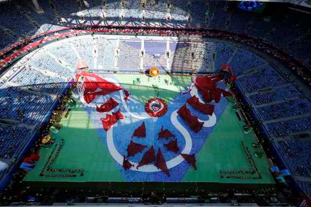 Chùm ảnh: Ấn tượng lễ khai mạc Cúp Liên đoàn các châu lục 2017 - Ảnh 9.