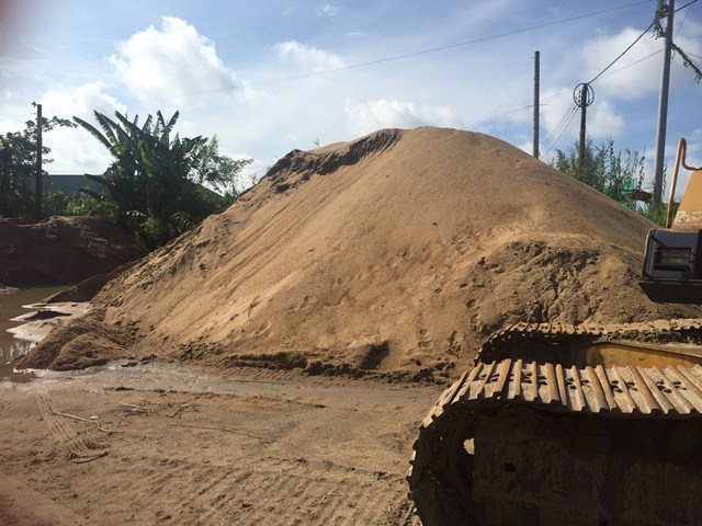 Giải pháp cho tình trạng khan nguồn cung cát xây dựng