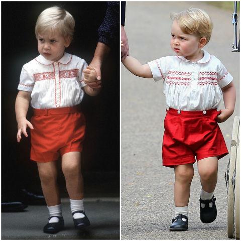 10 khoảnh khắc hoàng tử bé giống hệt các thành viên trong hoàng gia Anh - Ảnh 3.