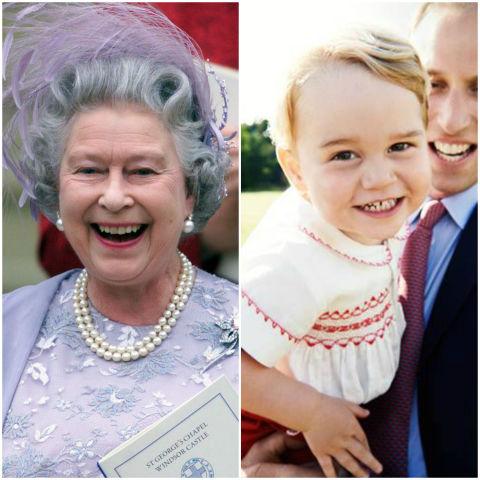 10 khoảnh khắc hoàng tử bé giống hệt các thành viên trong hoàng gia Anh - Ảnh 10.