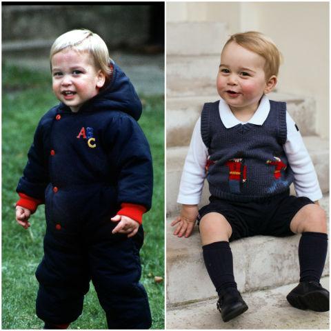 10 khoảnh khắc hoàng tử bé giống hệt các thành viên trong hoàng gia Anh - Ảnh 1.