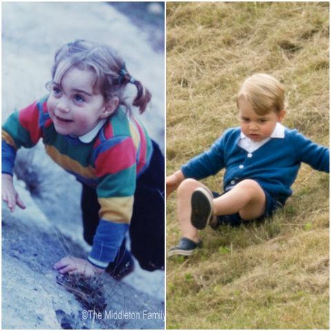 10 khoảnh khắc hoàng tử bé giống hệt các thành viên trong hoàng gia Anh - Ảnh 8.