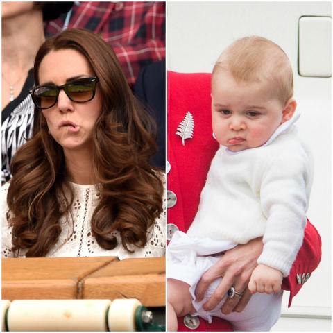 10 khoảnh khắc hoàng tử bé giống hệt các thành viên trong hoàng gia Anh - Ảnh 7.