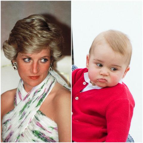 10 khoảnh khắc hoàng tử bé giống hệt các thành viên trong hoàng gia Anh - Ảnh 2.