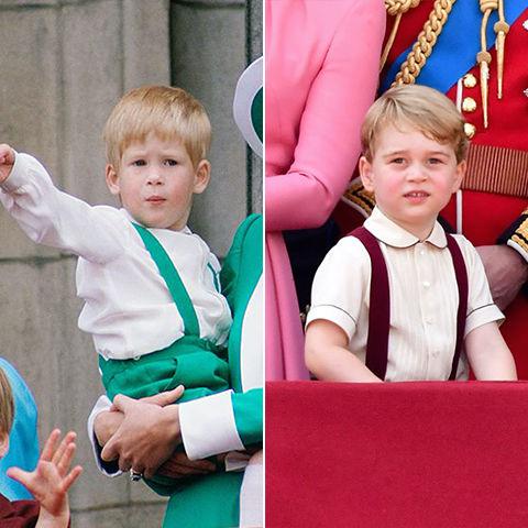 10 khoảnh khắc hoàng tử bé giống hệt các thành viên trong hoàng gia Anh - Ảnh 5.