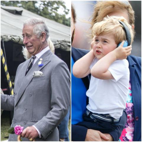 10 khoảnh khắc hoàng tử bé giống hệt các thành viên trong hoàng gia Anh - Ảnh 9.