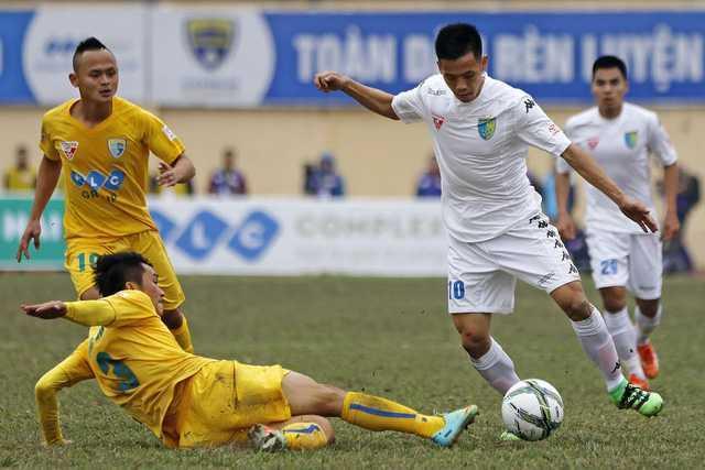 Lịch thi đấu & trực tiếp vòng 21 giải VĐQG V.League 2017: Chung kết sớm FLC Thanh Hóa - CLB Hà Nội - Ảnh 1.
