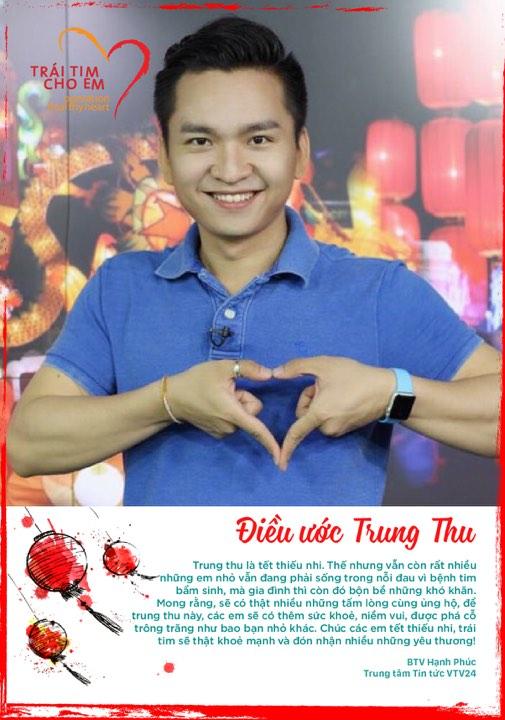 BTV VTV gửi lời chúc mừng Trung thu đến bệnh nhi của chương trình Trái tim cho em - Ảnh 3.