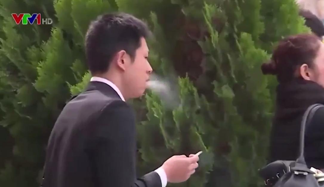 Nhật Bản nỗ lực hạn chế hút thuốc lá nơi công cộng