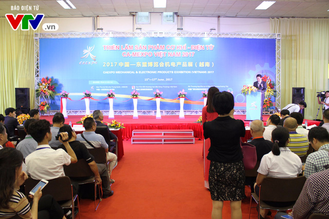 Triển lãm sản phẩm cơ khí - điện tử Việt Nam 2017 - Ảnh 1.