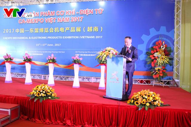 Triển lãm sản phẩm cơ khí - điện tử Việt Nam 2017 - Ảnh 3.