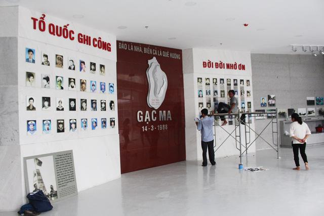 Khánh thành Khu tưởng niệm chiến sỹ Gạc Ma, Khánh Hòa - Ảnh 4.