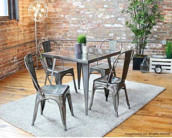 Ý tưởng đưa những bộ bàn ăn độc đáo vào không gian nhỏ hẹp - Ảnh 3.