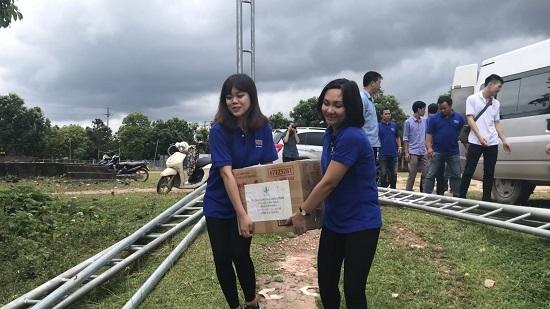 Thanh niên Ban Khoa giáo với các hoạt động từ thiện tại vùng cao Hà Giang - Ảnh 1.