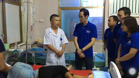 Thanh niên Ban Khoa giáo với các hoạt động từ thiện tại vùng cao Hà Giang - Ảnh 3.