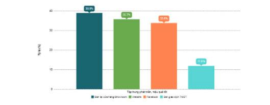 Việc đẩy mạnh tiếp thị, kinh doanh online khởi sắc toàn diện trong 1 năm qua - Ảnh 3.