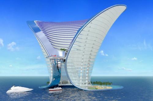 Hình ảnh siêu thực của các siêu khách sạn trong tương lai - Ảnh 3.
