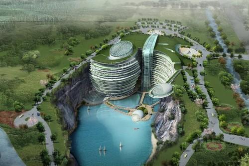 Hình ảnh siêu thực của các siêu khách sạn trong tương lai - Ảnh 7.