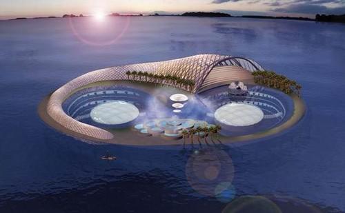 Hình ảnh siêu thực của các siêu khách sạn trong tương lai - Ảnh 8.