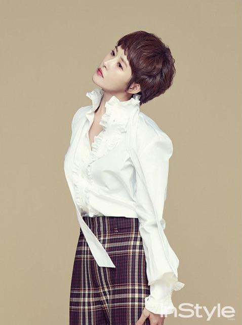 Ha Ji Won đọ tóc ngắn trẻ trung với nàng Kim Sam Soon - Ảnh 3.
