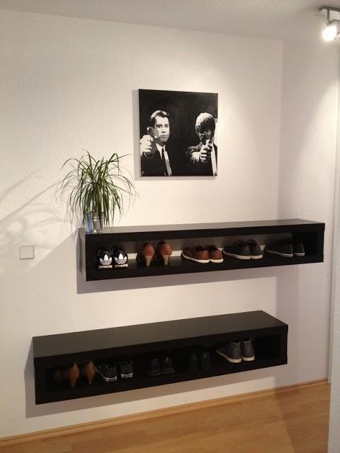 Ý tưởng thiết kế giá giày vừa gọn vừa đẹp trong nhà - Ảnh 4.